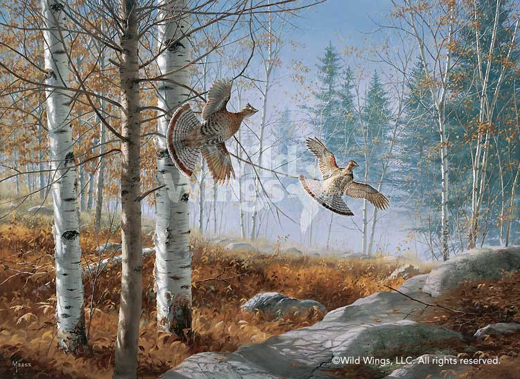 <i>Morning Double&mdash;Grouse</i>