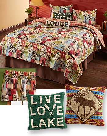 Rustic Medley Bedding Collection