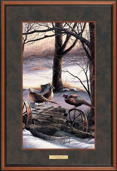 Rusty Refuge III—Pheasants.