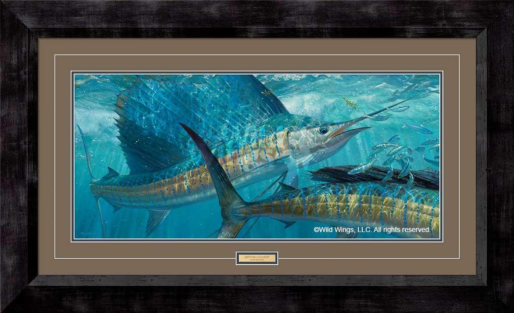 Batting Cleanup-Sailfish Art Collection