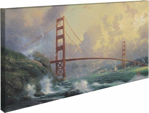 <I>San Fransisco Golden Gate Bridge</i> Gallery Wrapped Canvas