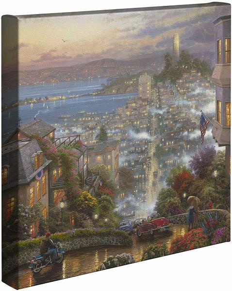 San Fransisco Lombard Street Gallery Wrapped Canvas