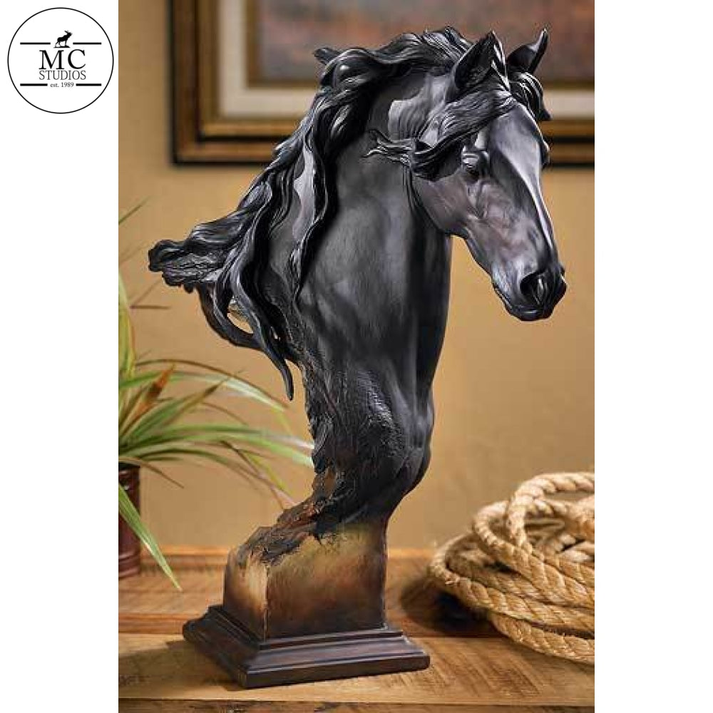 Equus—Fresian Horse—Large by Mill Creek Studios