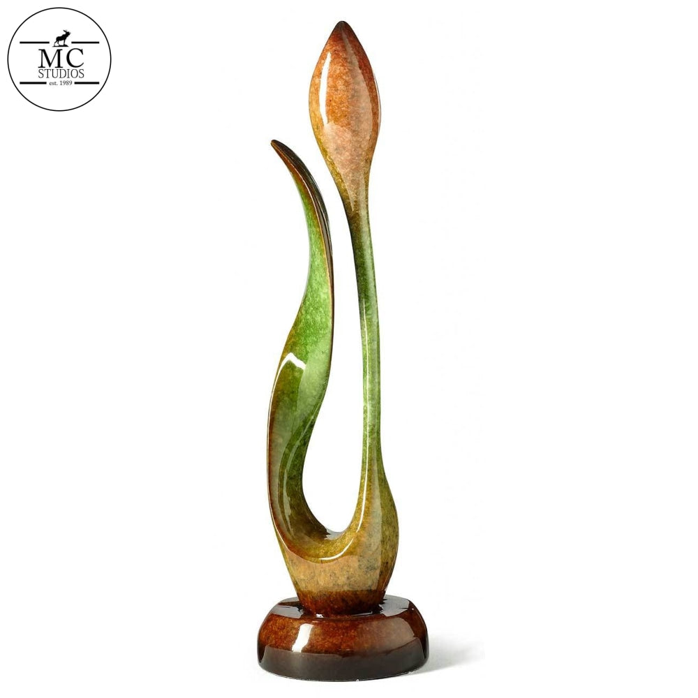 First Blossom—tulip By Mill Creek Studios Imago Sculpture