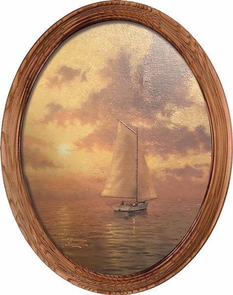<i>Sea of Tranquility&mdash;Sailboat</i>