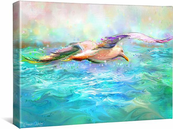 <I>Seagull</i> Gallery Wrapped Canvas