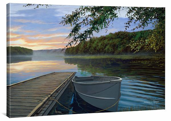 Serene Retreat Gallery Wrapped Canvas<Br/>24H X 36W Canvas