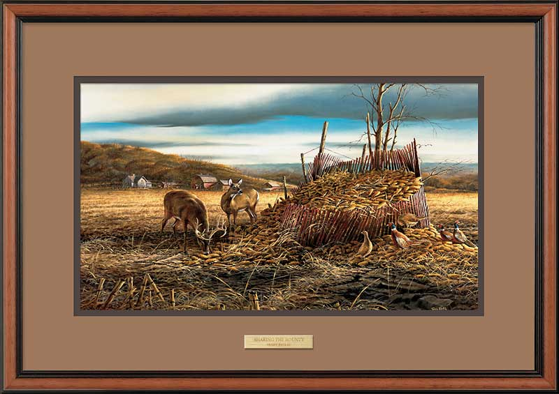 Sharing the Bounty-Deer Art Collection