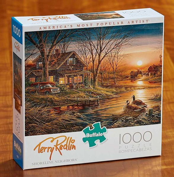 <I>Shoreline Neighbors</i> 1000 Piece Puzzle