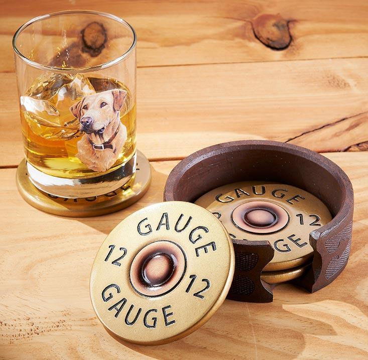 Shotgun Shell Coasters
