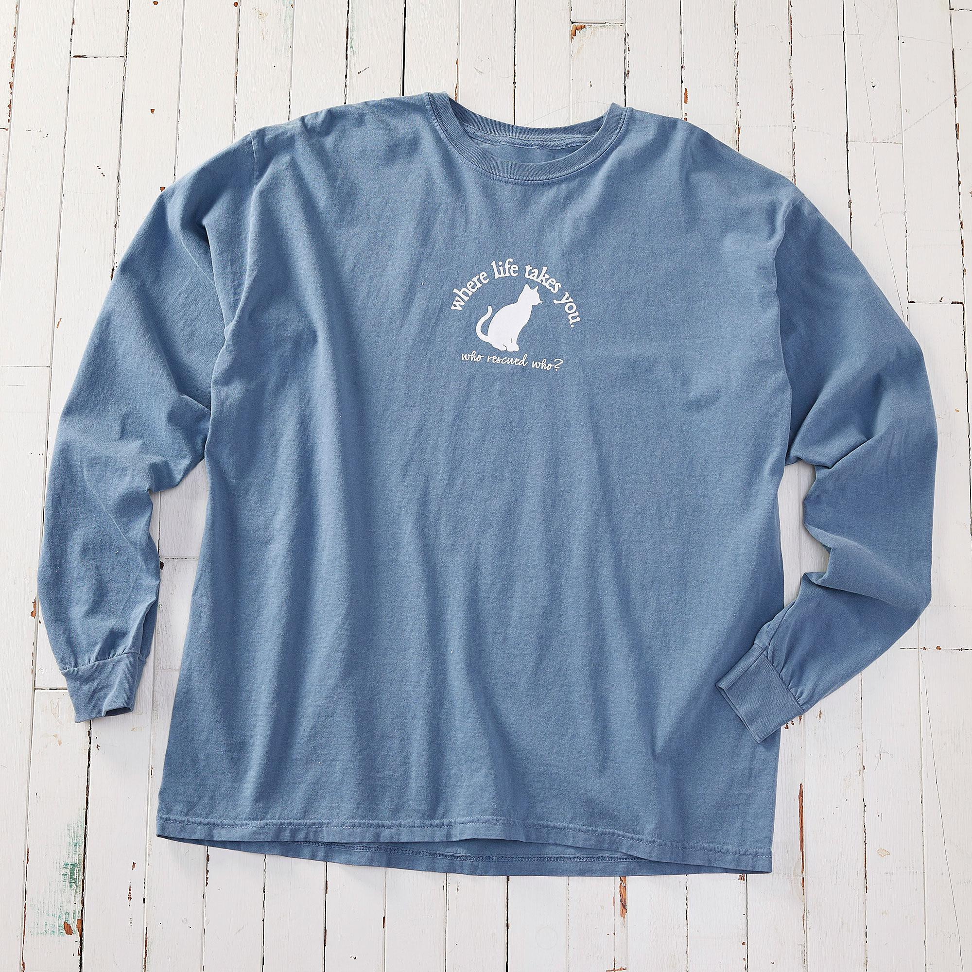 Cat Companion Long-sleeved Shirt