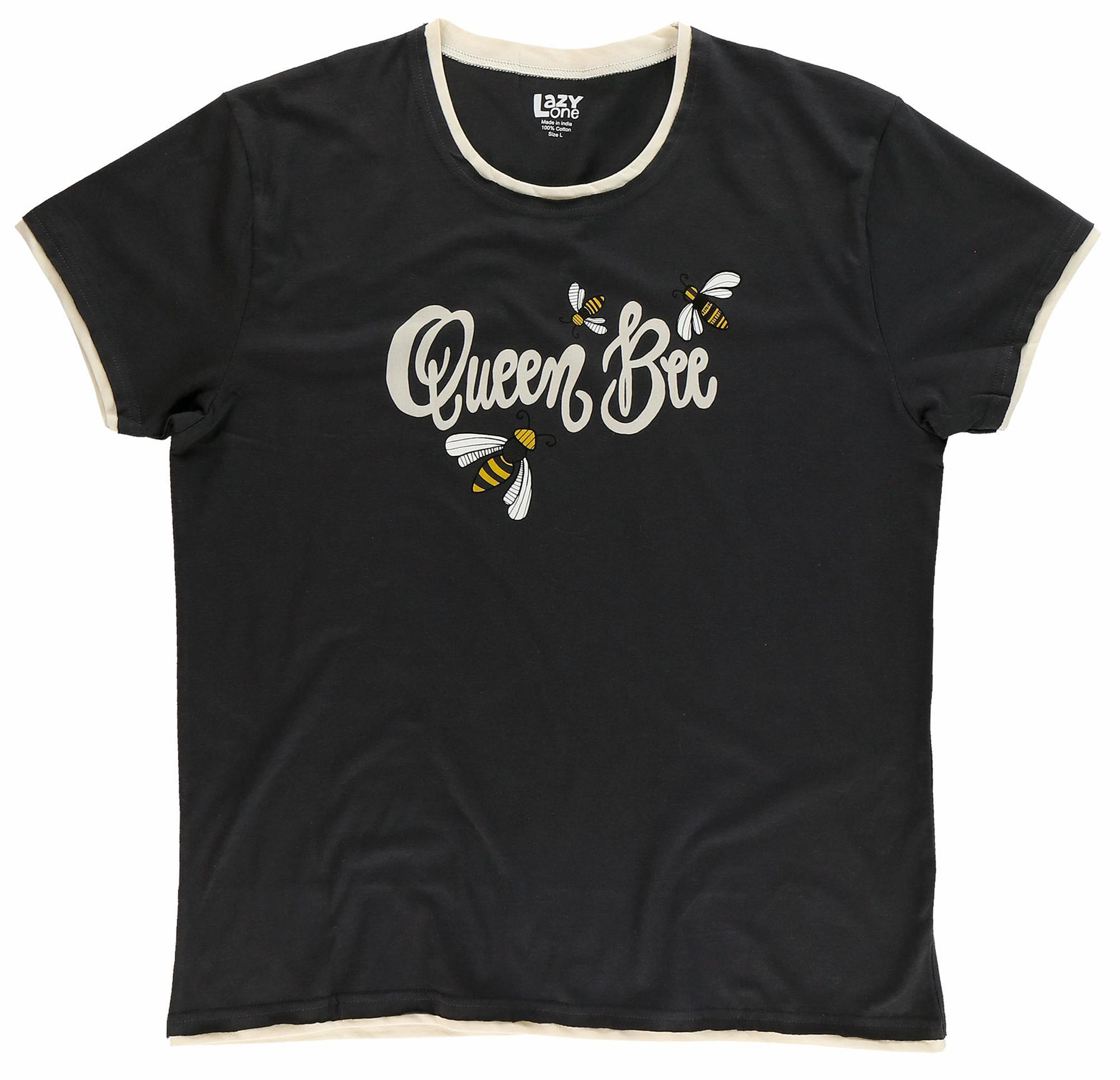 Queen Bee Pajama Shirt