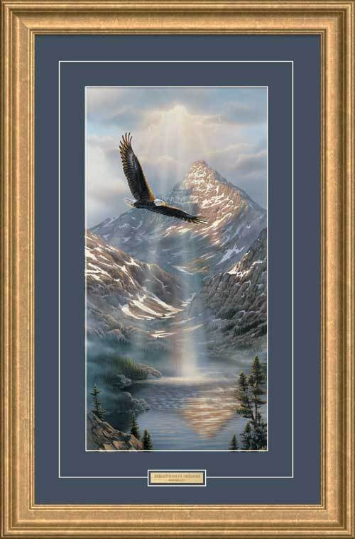 Small Reflections of Freedom—Eagle.