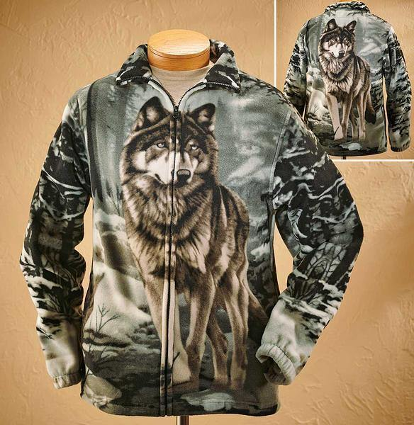 Lone Wolf Fleece Jacket