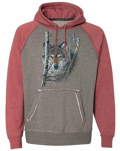 Wolf Hooded Sweatshirt