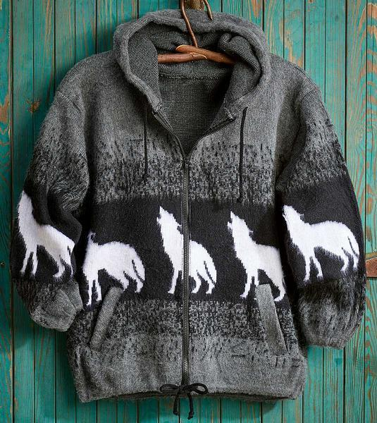 Howling Wolf Hooded Jacket