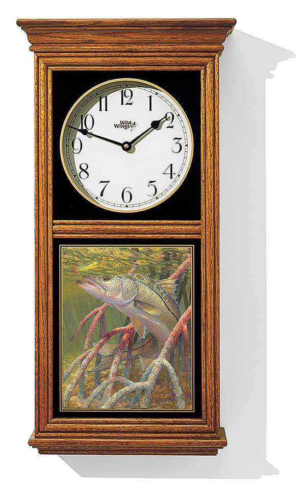 Snook Regulator Clock
