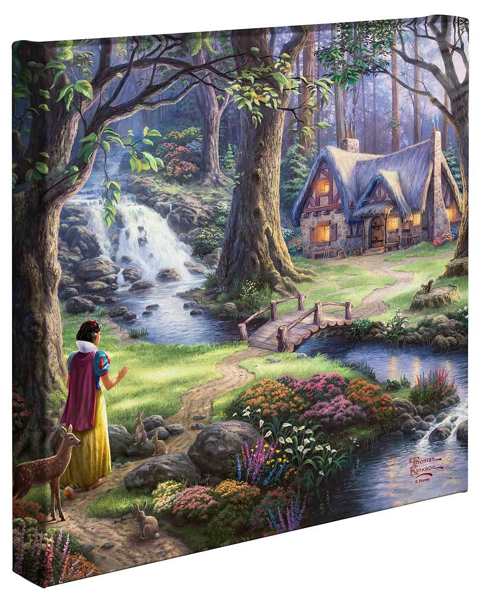 <i>Snow White Discovers the Cottage</i>