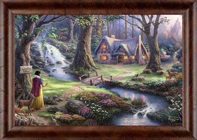 Snow White Discovers the Cottage.