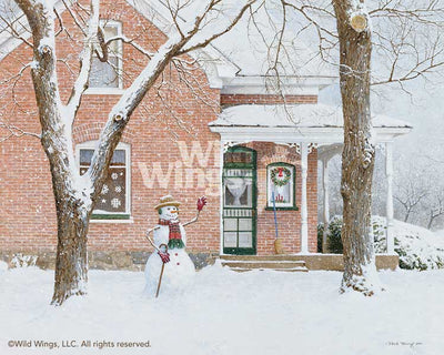 <i>The Greeting&mdash;Snowman</i>
