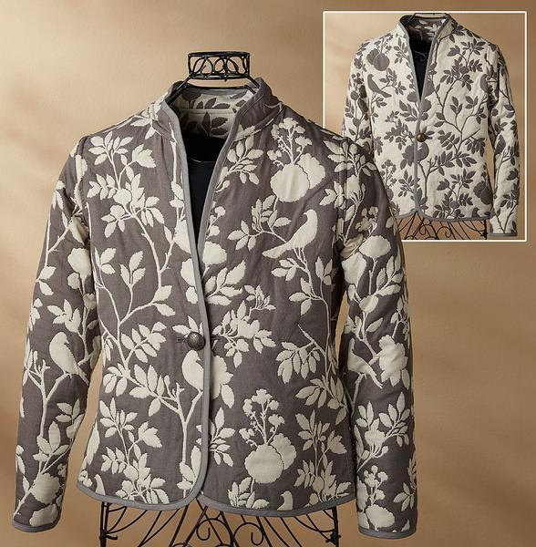 Graystone Garden Reversible Jacket