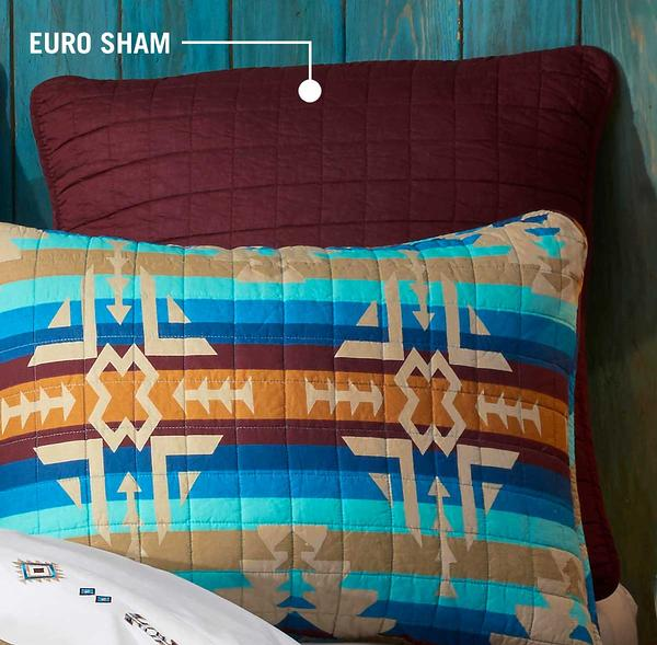 Southwest Harvest Euro Sham Pillow