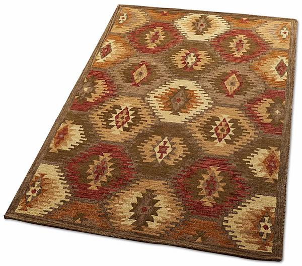Late Summer Kaleidoscope Area Rug Collection