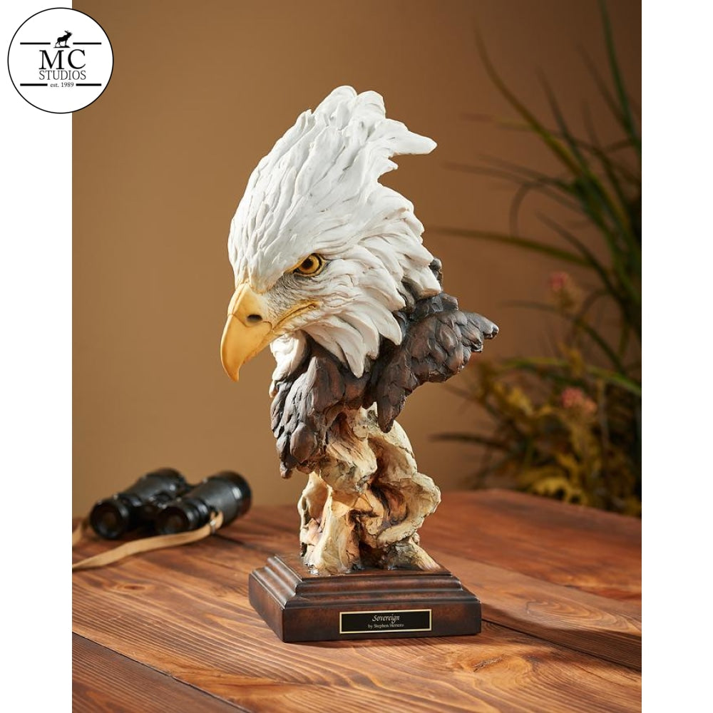 <I>Sovereign&mdash;eagle</i> By Mill Creek Studios Sculpture