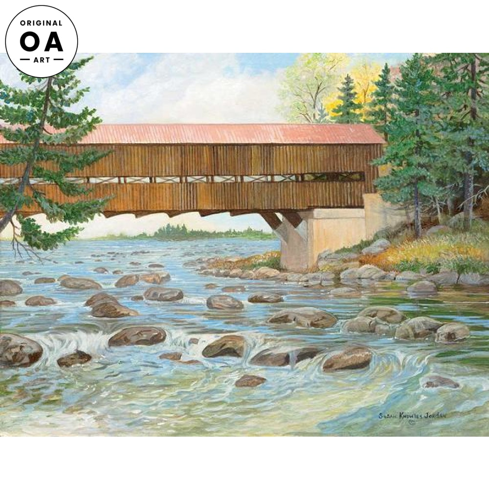 Sportsa Roof—Covered Bridge.