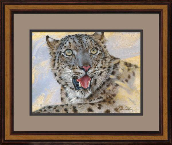 Spots & Stripes-Snow Leopard Art Collection