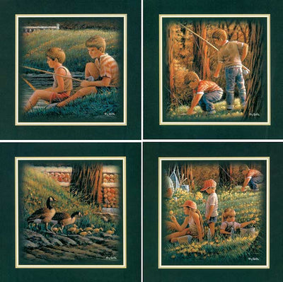 Spring Fishing Art Collection