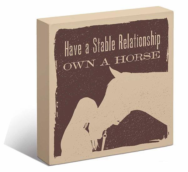 Have a Stable Relationship.