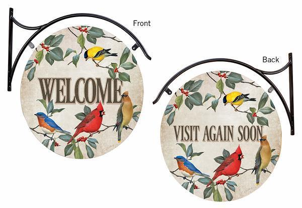Welcome/Visit Again—Birds.