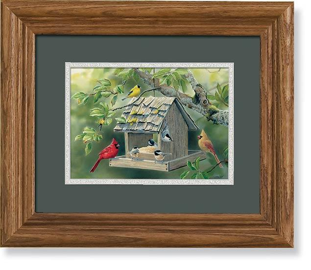 <I>Summer Feast</i> Gna Mini Framed Print<Br/>10.5H X 12.5W Art Collection