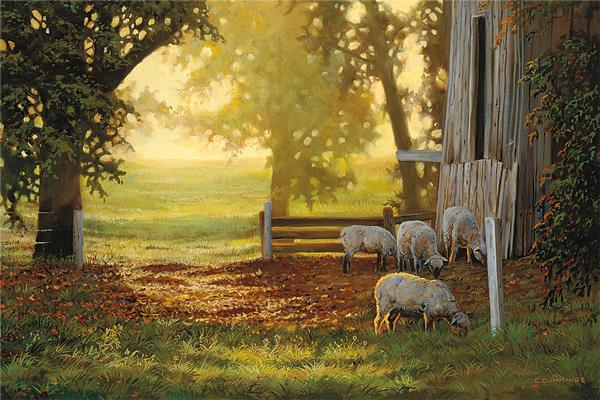 <i>Summer Gold&mdash;Sheep</i>