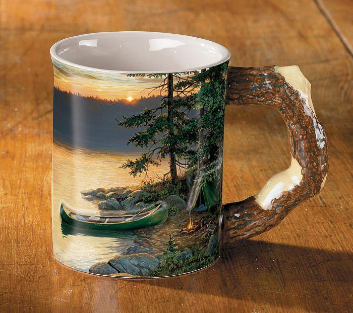 Summer Sunrise Sculpted Mug