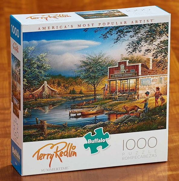 <I>Summertime</i> 1000 Piece Puzzle