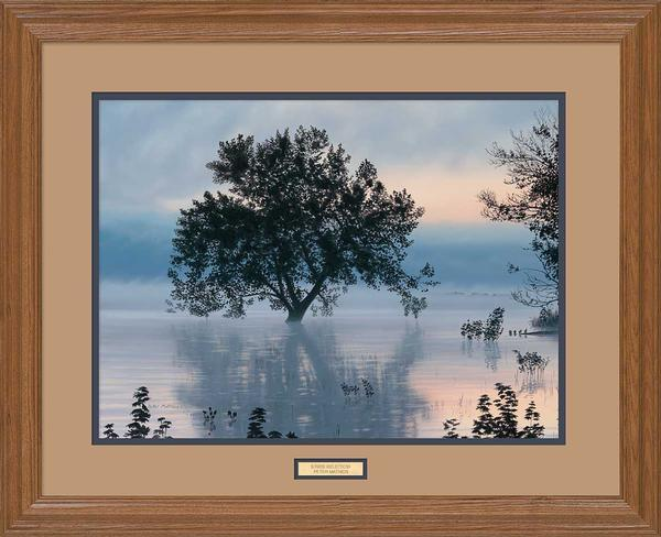 <I>Sunrise Reflection</i> Gna Premium Framed Print<Br/>25H X 31W Art Collection