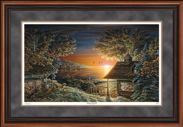 Sunset Retreat Art Collection