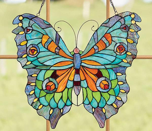 Swallowtail Butterfly Stained Glass