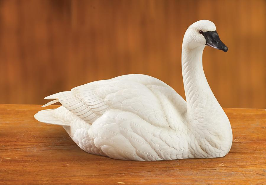 <I>Swan</i> Small Decoy