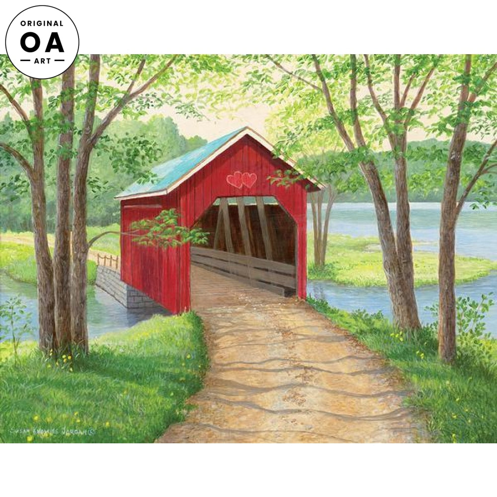 Sweet Home—Covered Bridge.
