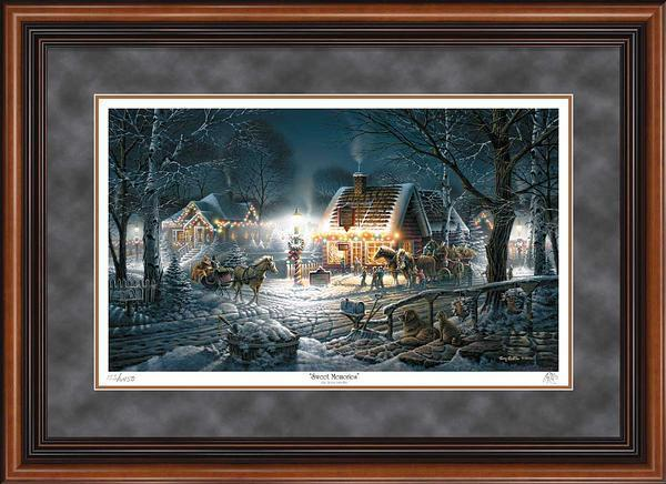 Sweet Memories Framed Artist Proof Print<Br/>24H X 34W Art Collection