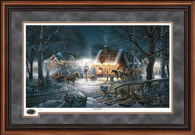 Sweet Memories Framed Limited Edition Print<Br/>29.5H X 42.5W Art Collection