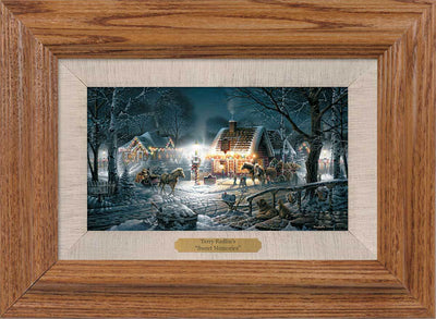 Sweet Memories Framed Oak Collage<Br/>9.75H X 13.5W Art Collection