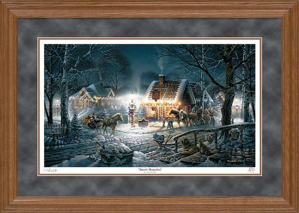 Sweet Memories Framed Artist Proof Print<Br/>23.5H X 34W Art Collection