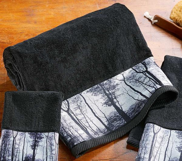 Mystic Forest Bath Towel