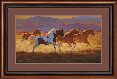 Taking Off-Horses Art Collection