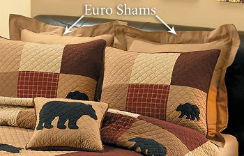 Caramel Sham Pillow Set