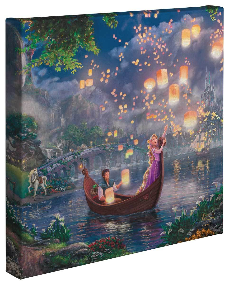 <I>Tangled</i> Gallery Wrapped Canvas